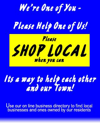 Please shop Local when you can for all your needs